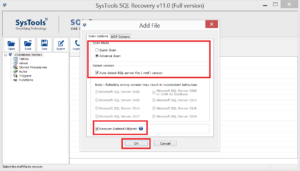 Recover Deleted Objects