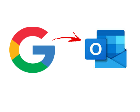 import g suite contacts in outlook