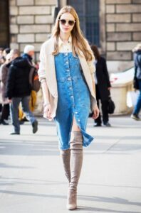 Layer With Denim