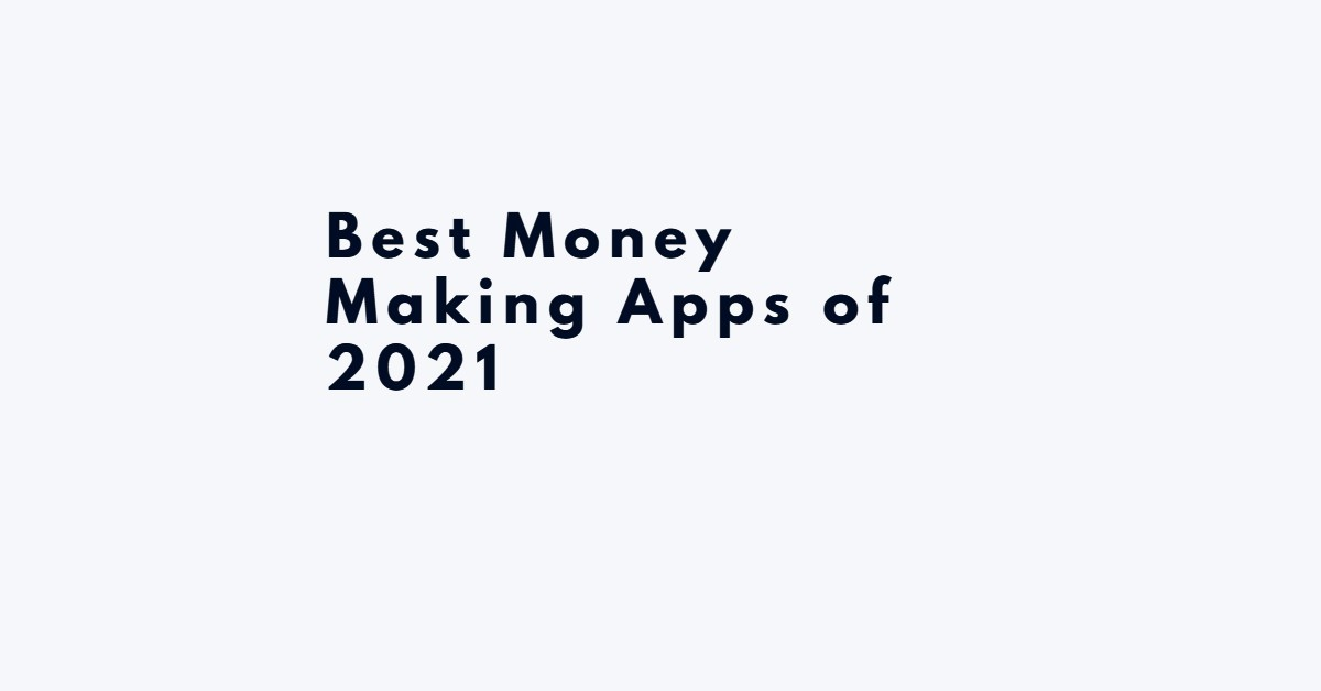 money making apps