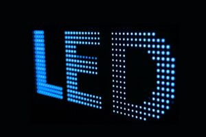 the LED signs