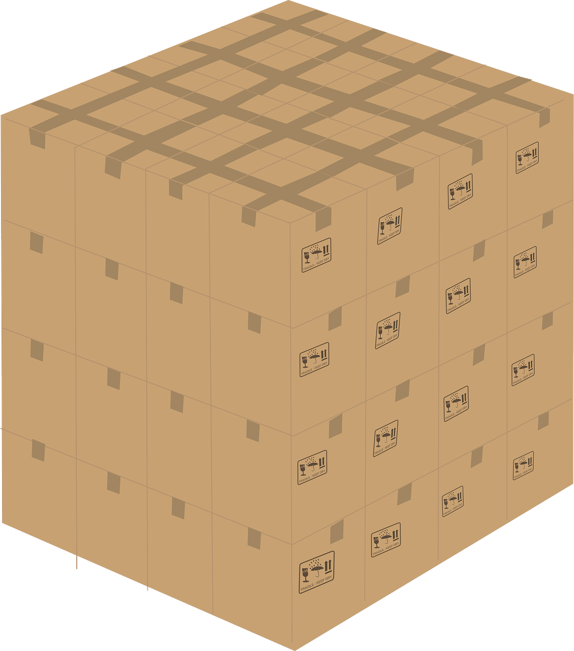 custom cubed boxes