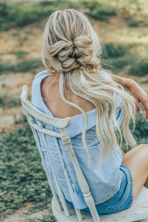 caring for blonde hair