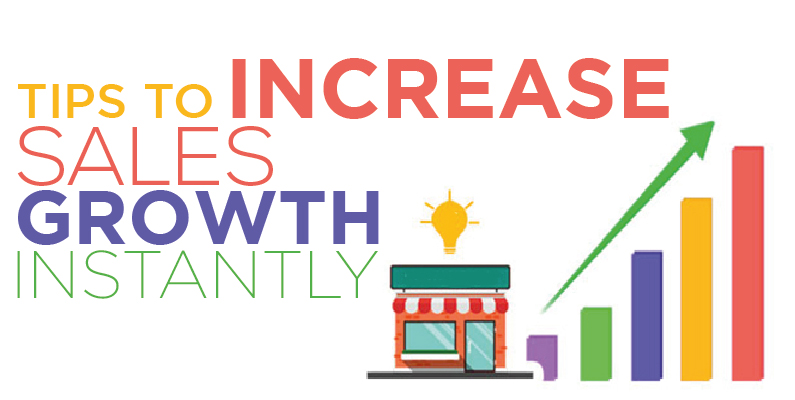 increase sales growth instantly